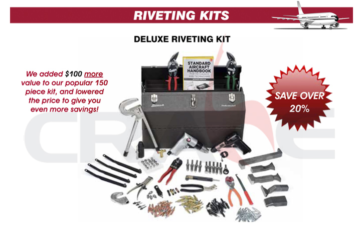 ATS钣金工具/豪华铆接套装DELUXE RIVETING KIT