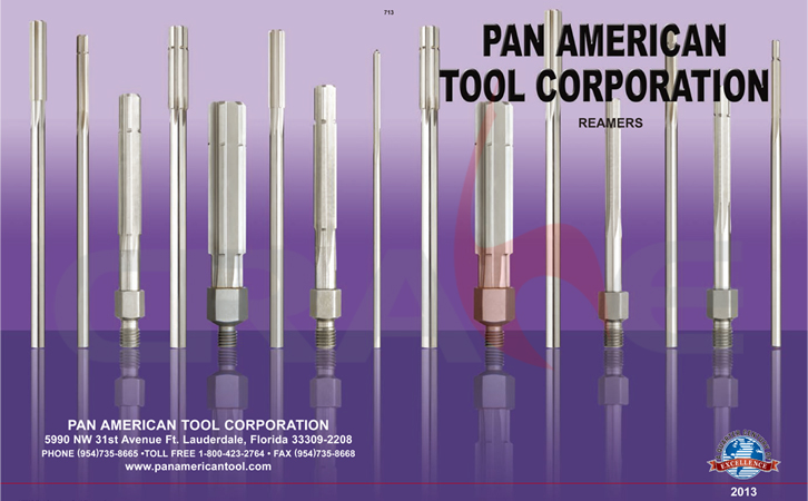 Pan American/铰刀/reamer aircraft tools