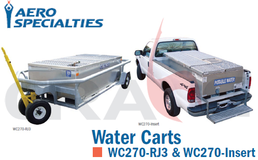 AEROSPECIALTIES/通航机坪清水车WATER CART WC270-RJ3/WC270-Insert